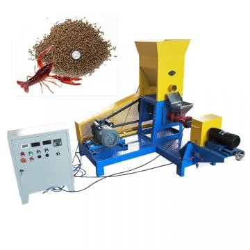 Small Animal Pet Catfish Food Making Extruder Floating Fish Feed Pellet Machine
