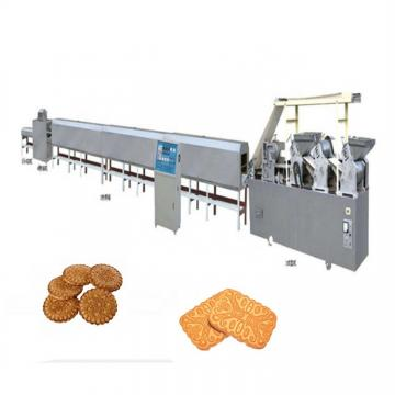 2019 Model-400 Semi Automatic Pet Cat Dog Biscuit Making Machine with Electricity Oven