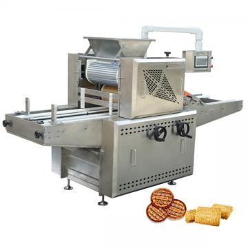 Automatic Mini Soft Cookies Pet Cat Dog Biscuit Machine Production Line Electric Oven PLC Control